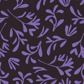 Simple leaf [purple]