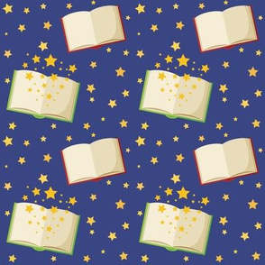 Magical Books - Blue
