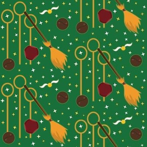 Broomstick Sport - Green