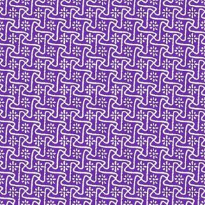 Pinwheel Tessellation - Cancer Awareness