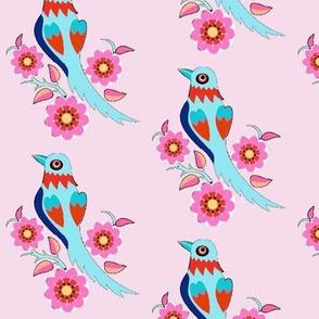 oriental style bird