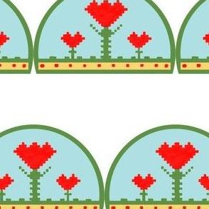 TE_55642_G_Yvier's Tulips in Semi Circle