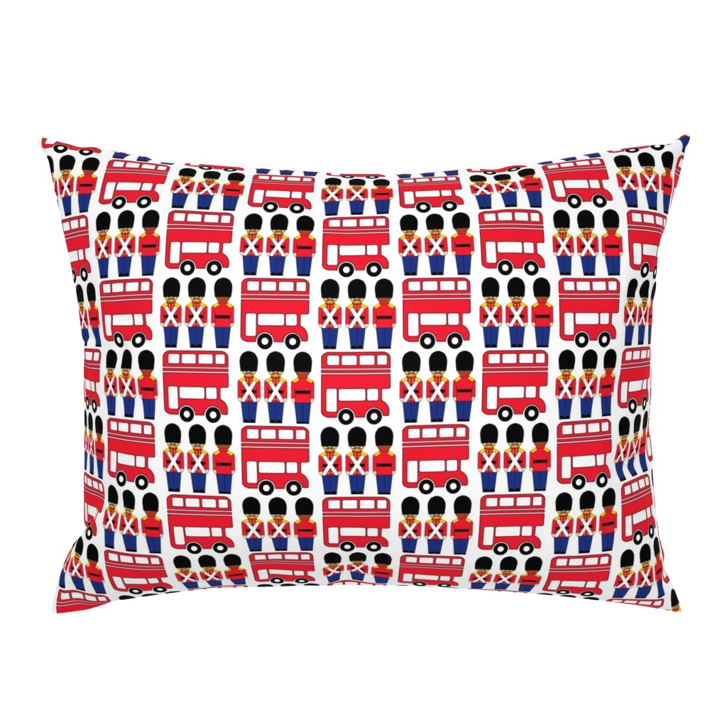 Campine Pillow Sham featuring london by aliceapple