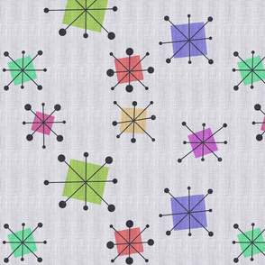 Bright Atomic squares  - jumbo