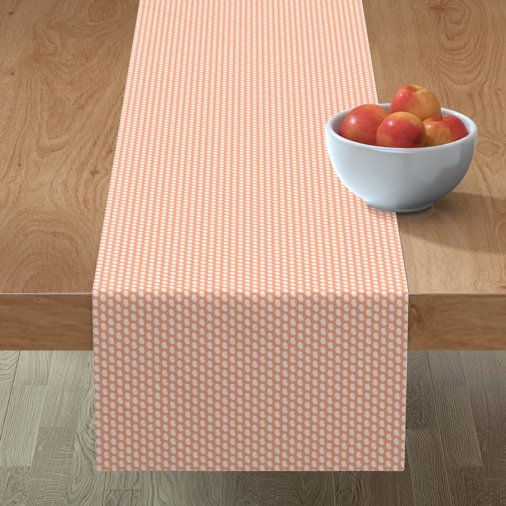 Minorca Table Runner featuring Navy beans by petitspixels