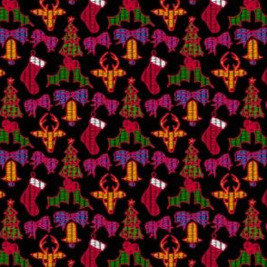 Christmas Holiday Tapestry