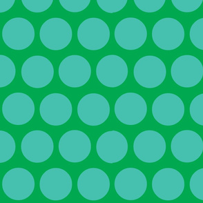 polka dot lg-green/aqua