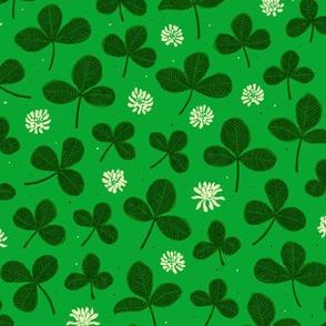 Lucky Clover Leaves