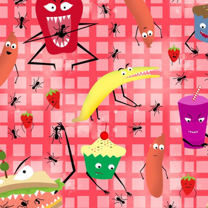 Food Monster's Picnic!