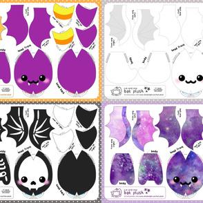 Cut & Sew Bat Plush Bundle New