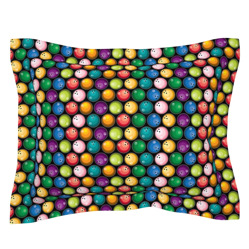 Sebright Pillow Sham featuring Big Balls of...! by ravenous
