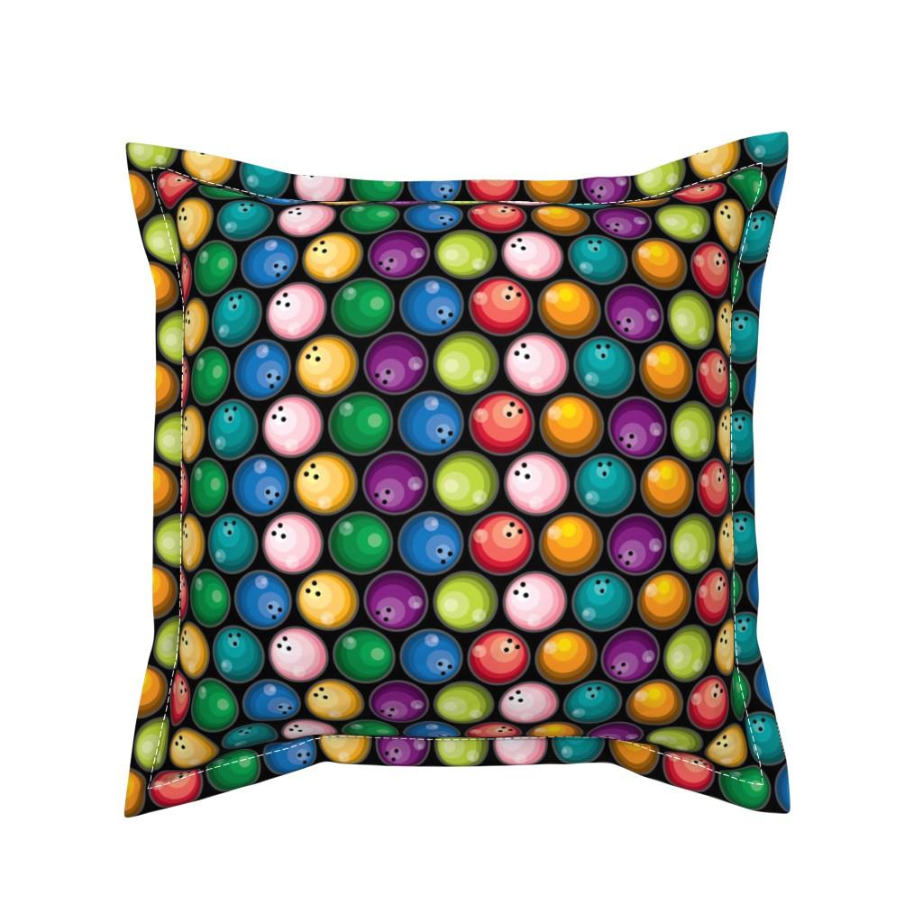 Serama Throw Pillow featuring Big Balls of...! by ravenous
