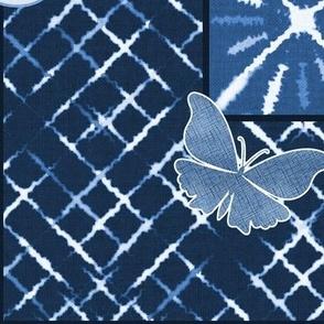 Blue Indigo Shibori Quilt