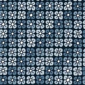 Petal Power - Blue Grey