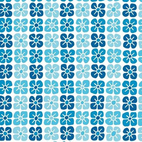 Petal Power - Bright Blue