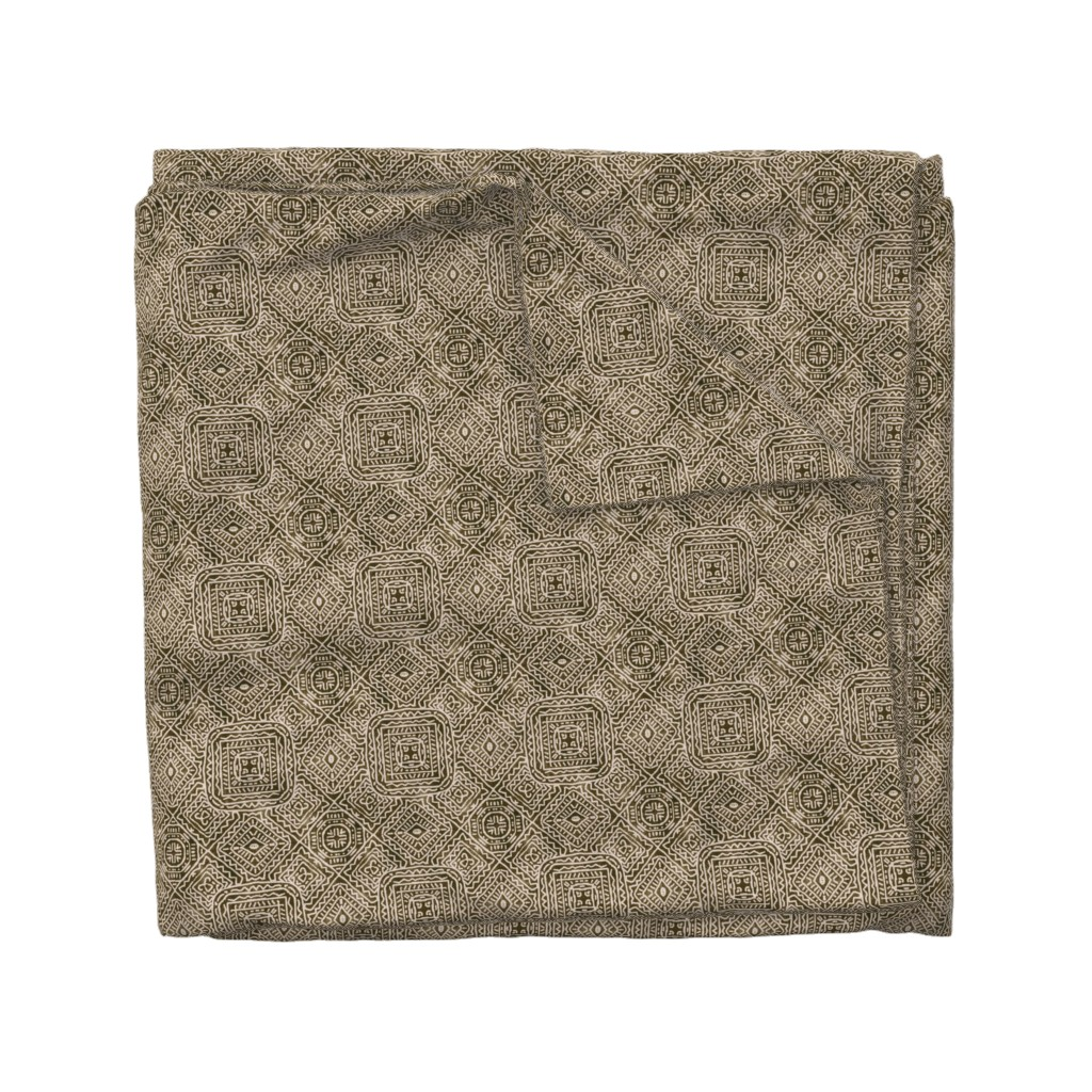 Wyandotte Duvet Cover featuring Viva Mexico, Brown by palifino
