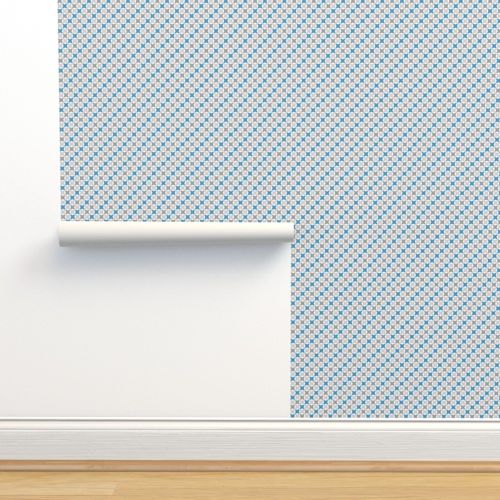 Isobar Durable Wallpaper featuring Winter Snow Sport Geometric, Small by palifino