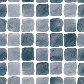 Monochrome Watercolor tiles