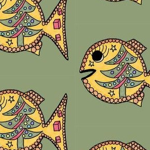 FI_7553_D Fish green and yellow BC