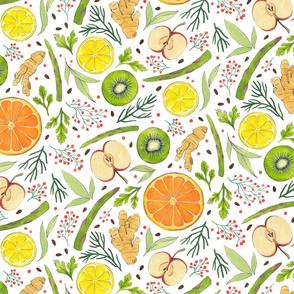 Citrus and Greens