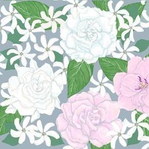 Garden Trellis Pink And Star
