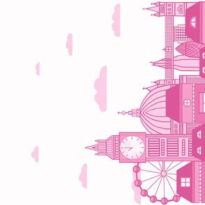 HUGE Pink London 56x36