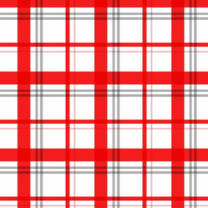 Little Red Plaid