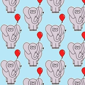 The Elephant and His Balloon