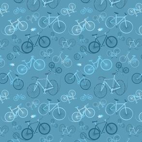 I love bikes Teal