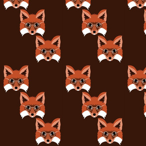 7397004-smart-foxes-monochrome-by-ally_the_junebug