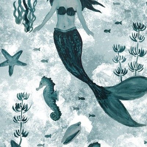Under the Sea (Teal)