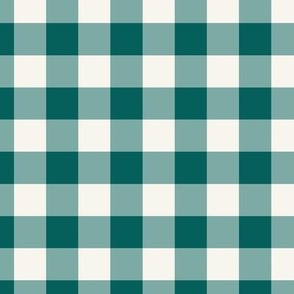 Fire Engine Red Check