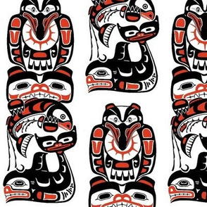 a- American Indian Totem #1