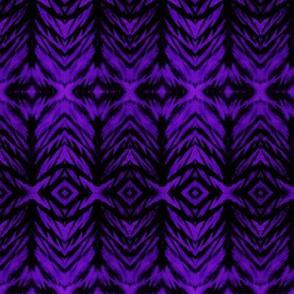 Shibori Stripe Violet