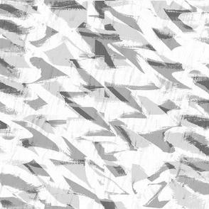Rock Crystals large Light Grey
