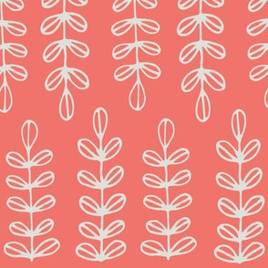 Vintage Kitchen Coral Fern