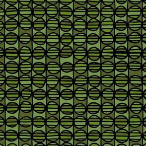 Stripe The Dots - Green