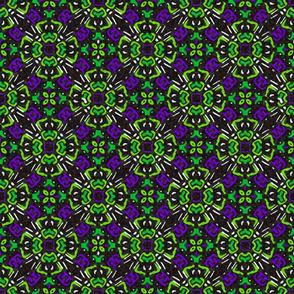 Floral Tile Lime