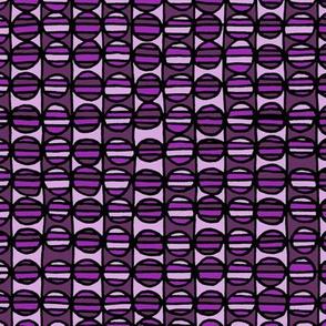 Stripe The Dots - Purple
