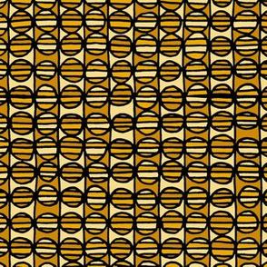 Stripe The Dots - Yellow