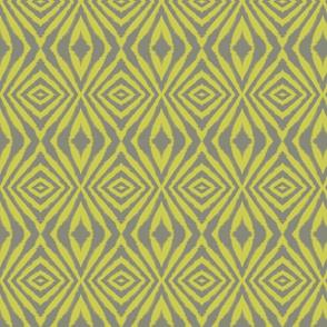 Organic Diamond Grey and Yellow