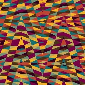 moroccan arrow - multicolor