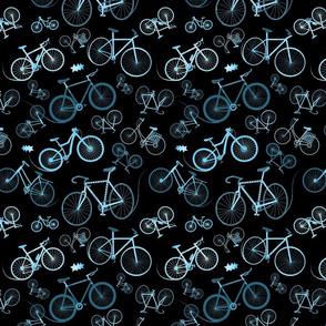 I love bikes on black