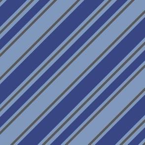 House Stripe - Blue