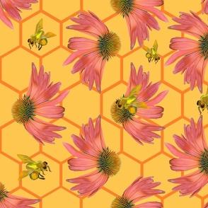 Echinaceas Bee Hive