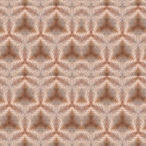 Kaleidoscope in beige, grey and brown