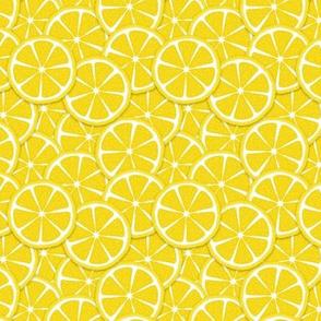 Smaller lemon slices all over