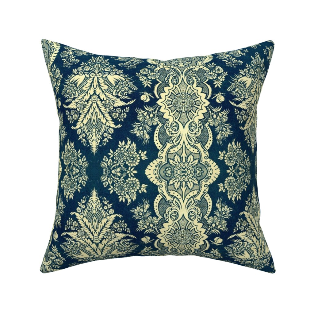 Catalan Throw Pillow featuring 16eme siecle 29 by hypersphere