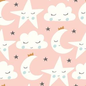 sleepy skies pink