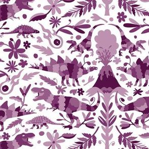 Dinosaur Otomi Purples